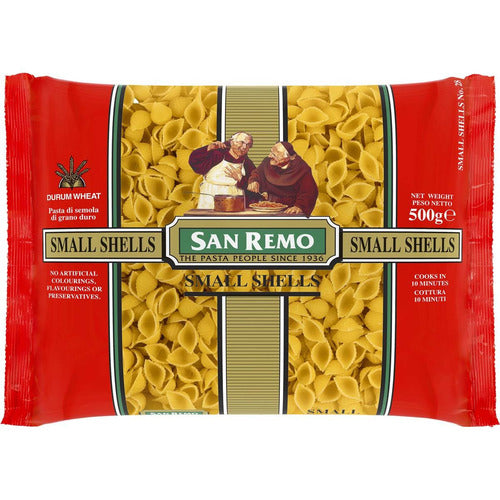San Remo Shells Small #28 500g