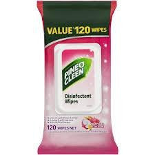 Pine O Cleen Surface Wipes Tropical Blossom 120pk