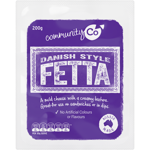 Community Co Danish Fetta 200g