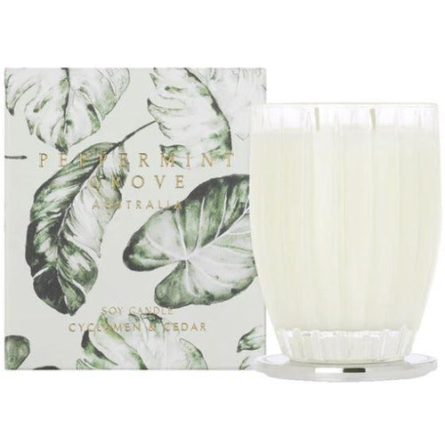 Cyclamen & Cedar Large Candle - 350g