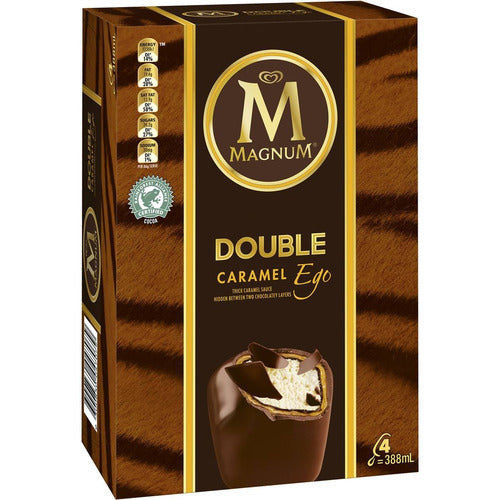 Magnum Double Caramel Ice Creams  / 4 Pack