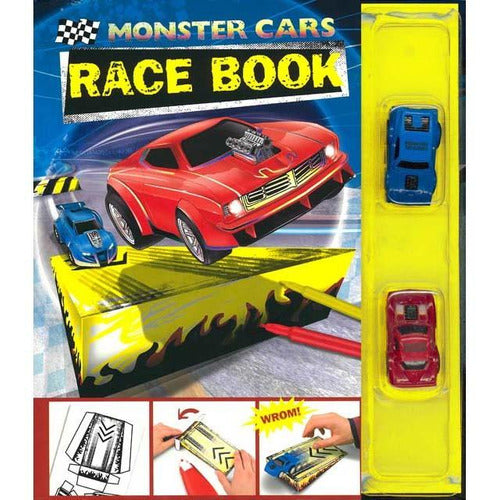 Monster Cars Race Book