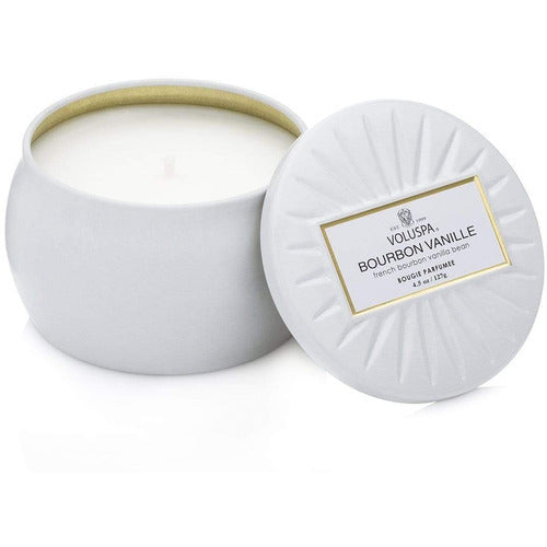 Voluspa Bourbon Vanille Small Decorative Candle