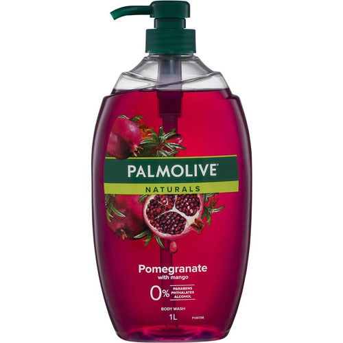 Palmolive Naturals Body Wash Pomegranate With Mango Shower Gel 1L