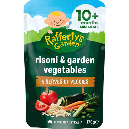 Rafferty's Rissoni Pasta & Garden Vegetables 170g
