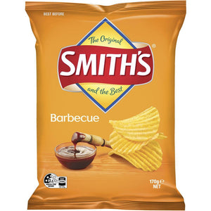Smith's Crinkle Cut Bbq 170g