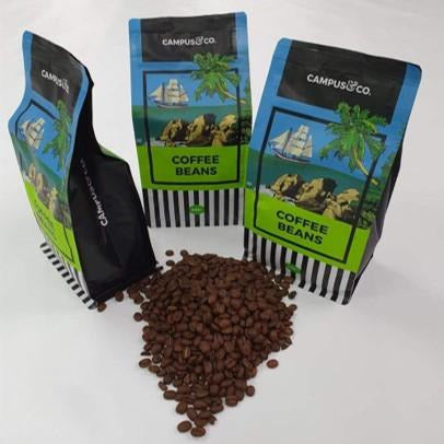 Campus & Co Premium Blend Coffee Beans 500gm Resealable Bag