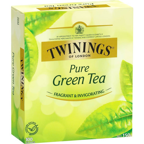 Twinings Pure Green Tea 100 pk