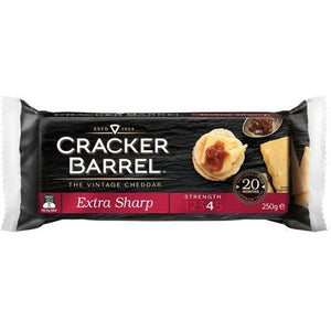 Cracker Barrel Block Extra Sharp 250g