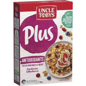 Uncle Tobys Cereal Plus Antioxidant 765g