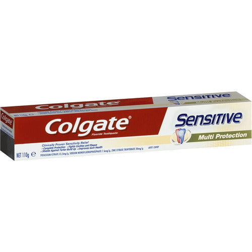 Colgate Toothpaste Sensitive Multi Protection 110gms