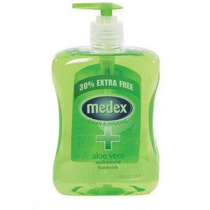 Medex Anti-bacterial Hand Wash Aloe Vera 650ml