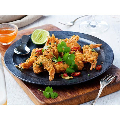 Double Crunch Prawns S & P 1kg