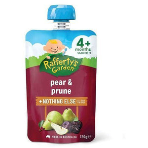 Rafferty's Smooth Pear & Prune 4 Month 120g