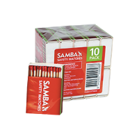 Samba Matches- 10 Pack