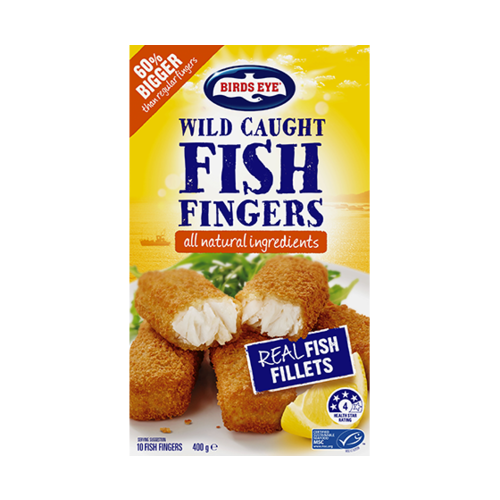 Birds Eye Wild Caught Hoki Fish Fingers 400g