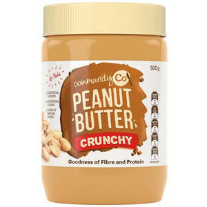 Community Co Peanut Butter Crunchy 500g