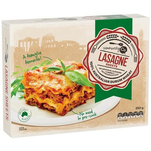 Community Co Lasagna #100 250g
