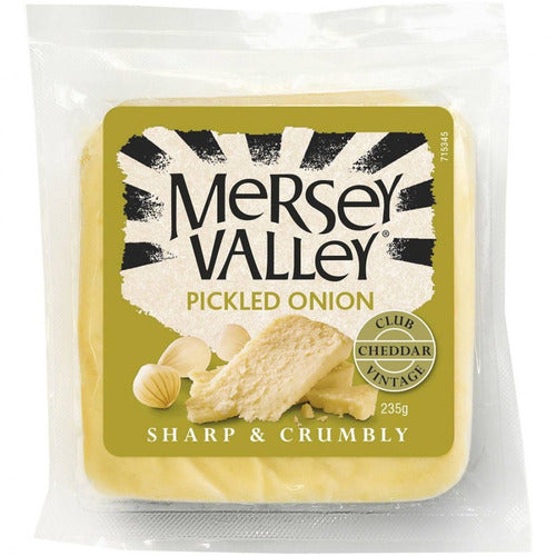 Mersey Valley Pickled Onion Cheese 235g