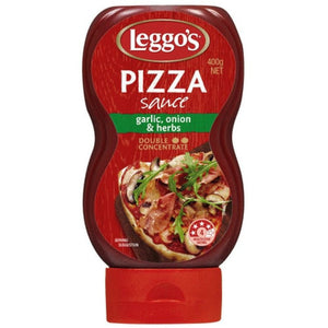 Leggo's Pizza Sauce Garlic, Onion & Herbs 400g