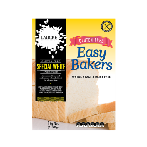 Laucke Easy Bakers Gluten Free Special White Mix 1Kg