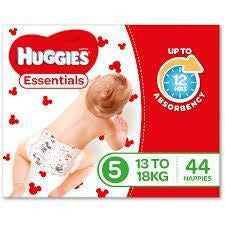 Huggies Essential Nappy Size 5 Walker 13-18Kg 44/pack