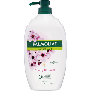 Palmolive Naturals Body Wash Cherry Blossom Shower Gel 1L