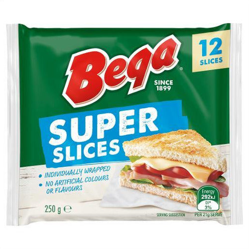 Bega Super Slices 12 Slices