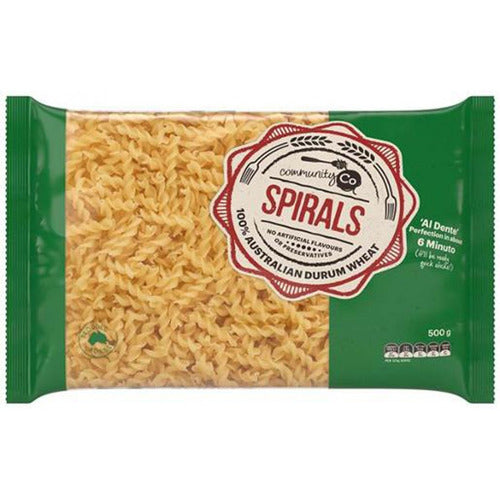 Community Co Pasta Spirals 500g