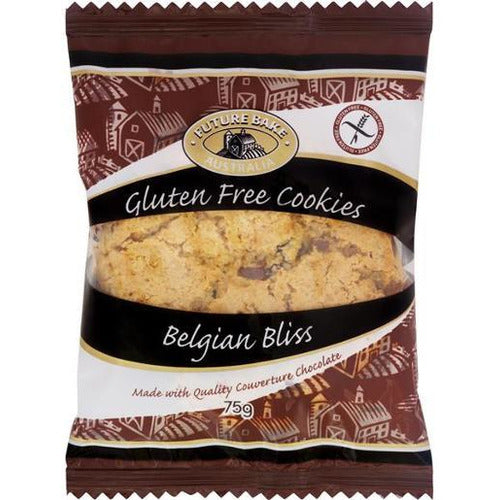 Future Bake Belgian Bliss Gluten Free Cookies 75g