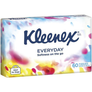 Kleenex Soft Pack 60 Tissues