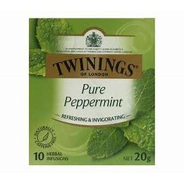 Twinings Tea Bags 10 pk - Pure Peppermint