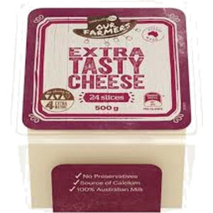 Community Co Extra Tasty Cheese Slices 500g