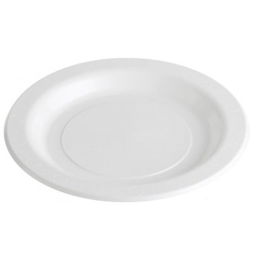180mm Luncheon Plate White 50pk