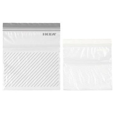 Ziplock Bags Medium Grey Ikea