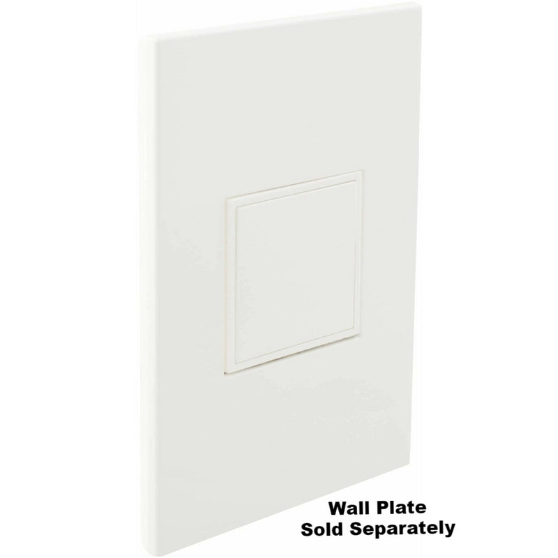 Adorne Pop Out Outlet, White, closed