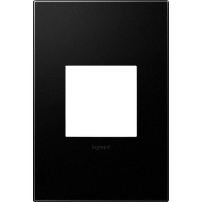 Adorne 1 Gang Graphite Wall Plate