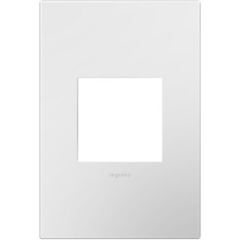 Adorne 1 Gang White Wall Plate