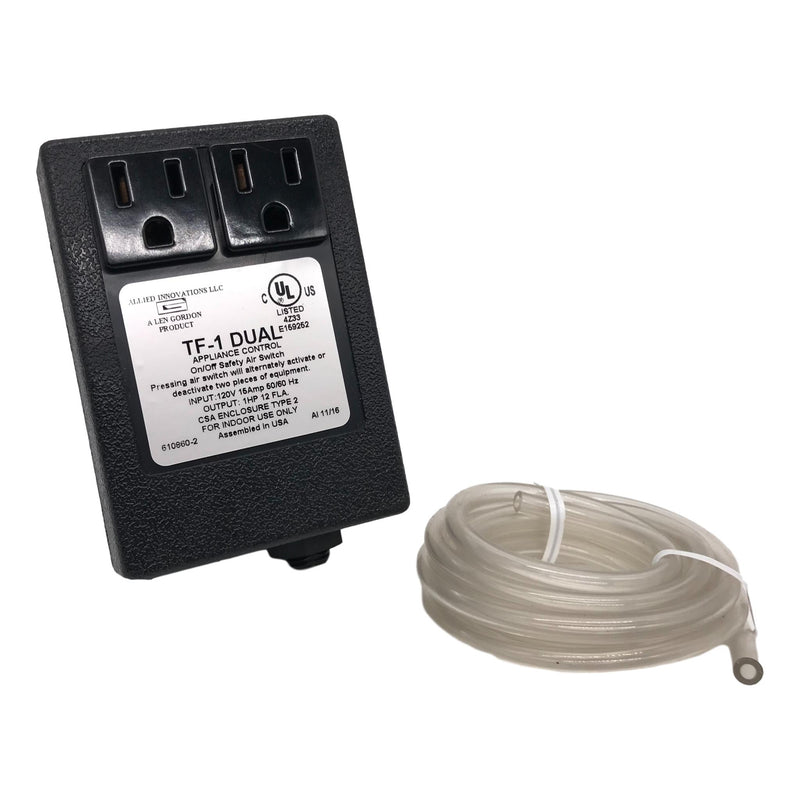 Dual Outlet Power Controller and Air Tubing