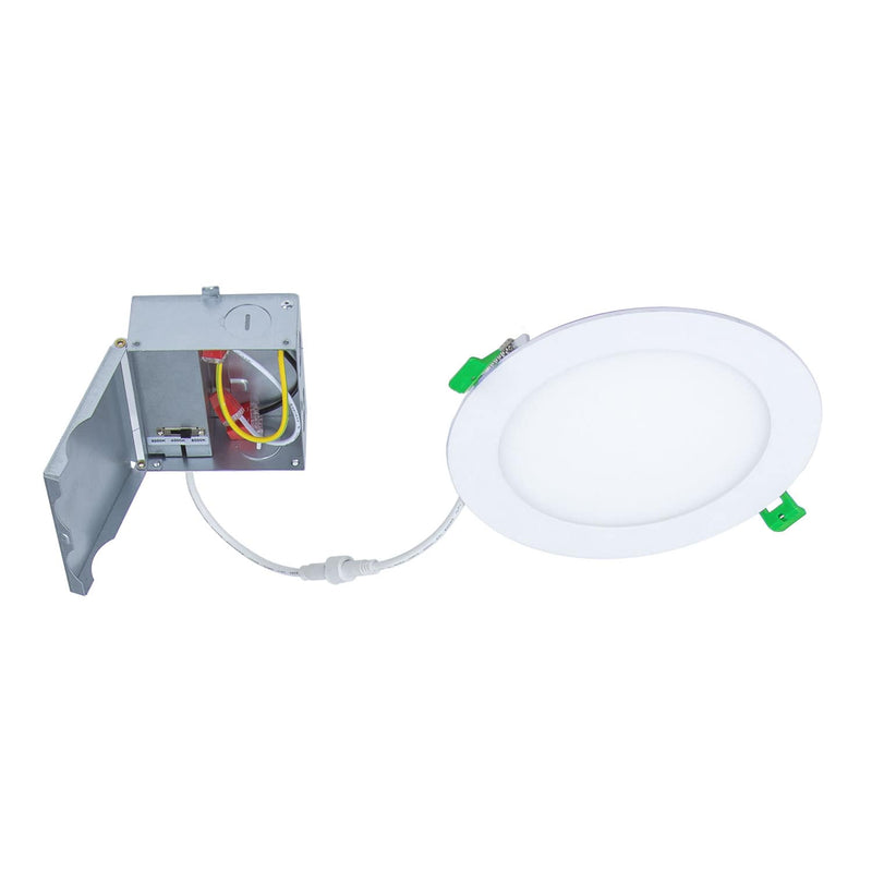 "ESL Vision LED 6"" Slim Downlight, Light and J-Box"