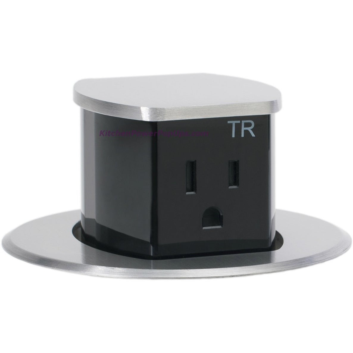 Hubbell Rct200alu Waterproof Dual Sided Pop Up Counter Outlet