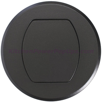 Surface Mount Replacement Cover for RCT Series Boxes - Black