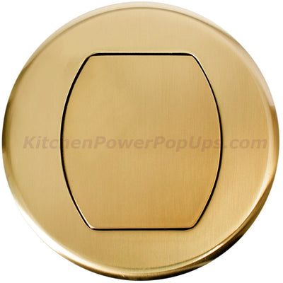 Surface Mount Replacement Cover for RCT Series Boxes - Brass
