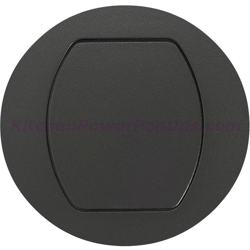 Flush Mount Replacement Cover for RCT Series Boxes - Black