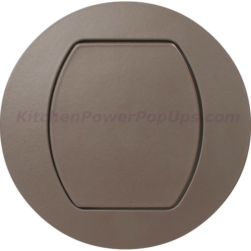 Flush Mount Replacement Cover for RCT Series Boxes - Brown