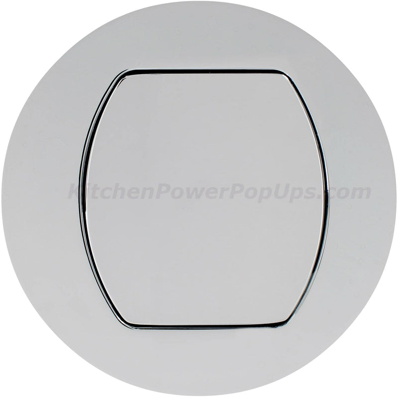 Flush Mount Replacement Cover for RCT Series Boxes - Chrome