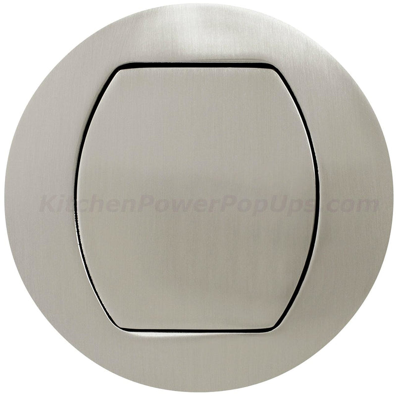 Flush Mount Replacement Cover for RCT Series Boxes - Nickel