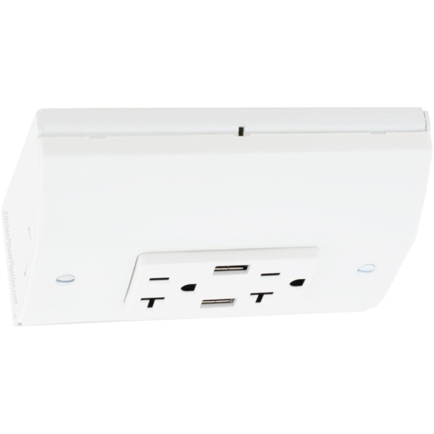 Hubbell RU270W20AUSB Under Cabinet Power 20A USB Box White ...