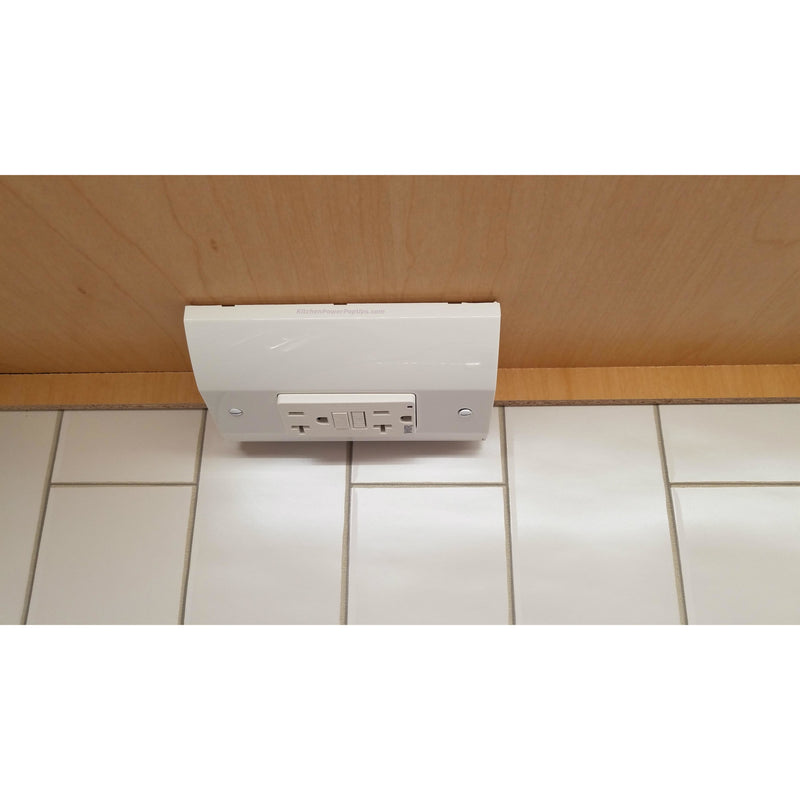 Hubbell RU170W20AGFI Under Cabinet Power Box