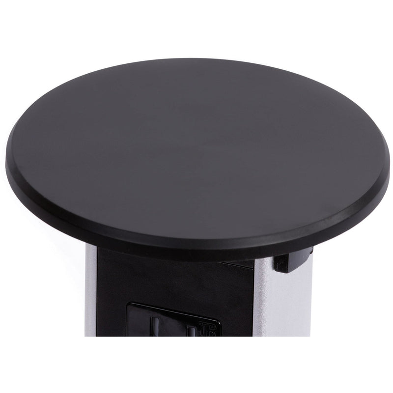 Wireless Charging Black Plastic Top